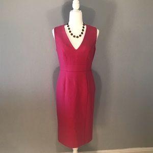 Classy & Cute Pink Shift Dress— pink tartan!